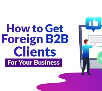 How to get foreign clients